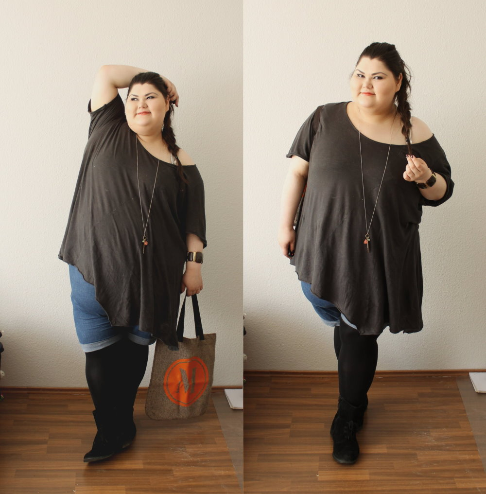 Femme fatale blogger how to be a fat bitch 3 being for Outfit bauch kaschieren