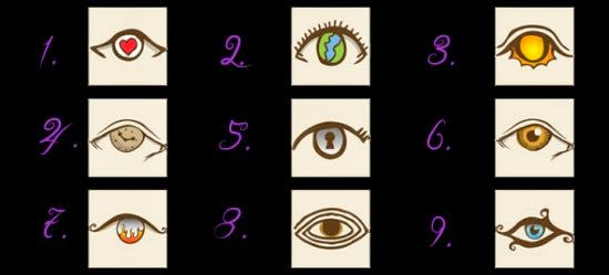 A Fun Personality Test! Choose An Eye And See What It Reveals