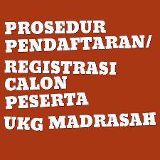 Prosedur Pendaftaran Registrasi Calon Peserta Ukg