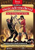 Del 31 de mayo al 3 de junio de 2012 el Primer Mercado Medieval de Triana en el parque del Turruñuelo