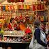 Boulevard Saint-Germain - le marché