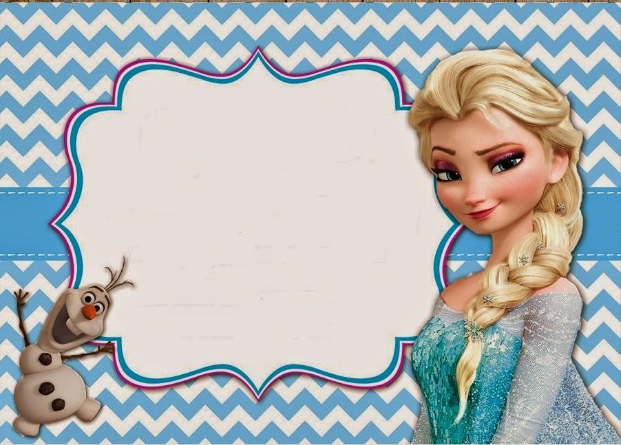 Tarjetas de Cumpleaños con Frozen