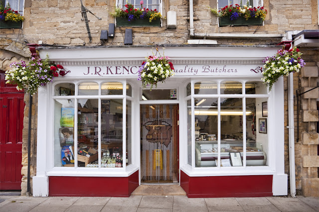 An independent butcher found on Chipping Norton High Street by Martyn Ferry Photography