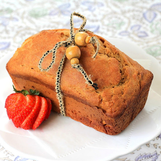 Healthy Pound Cake Recipe - Desserts with Benefits