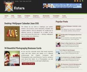 Kutara Blogger Template