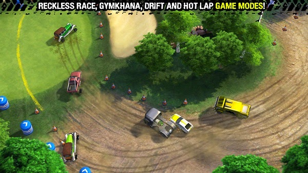 RECKLESS RACING 3 ANDROIDTV GAMEPAD ANDROID WAMPO PRO