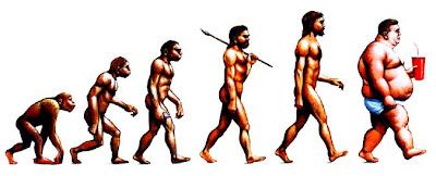 Evolution de l'homme : du singe à l'obésité