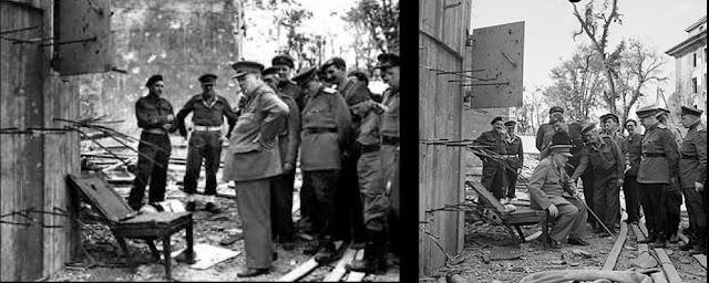 """Führerbunker oli Berliinin keskustassa valtakunnankanslian yhteydessä sijainnut maanalainen bunkkeri, jossa oli viimeinen Adolf Hitlerin toisen maailmansodan aikaisista päämajoista. Siellä Hitler myös teki itsemurhan 30. huhtikuuta 1945.  Sisällysluettelo      1 Rakennelma     2 Käyttö     3 Hävittäminen     4 Lähteet     5 Viitteet     6 Aiheesta muualla  Rakennelma  Hitler rakennutti itselleen 21 päämajaa (Führerhauptquartier, FHQ) eri puolille Saksaa sekä Itä- ja Länsi-Euroopan miehitetyille alueille. Osaa näistä ei saatu valmiiksi – eikä Hitler vieraillut niissä – ennen sodan päättymistä.[1] Päämajat olivat pääsääntöisesti maanalaisia betonibunkkereita. Muita Hitlerin päämajoja Führerbunkerin ohella oli muun muassa Wolfsschanze.[2] Führerbunker oli massiivinen, täysin pomminkestävä bunkkeri, joka sijaitsi Wilhelmstrasse-kadun varrella valtakunnankanslian puutarhan alueella useiden metrien syvyydessä.[3] Führerbunkerin kokonaisuus käsitti kaksi toisiinsa liitettyä bunkkeria, vanhempi """"Vorbunker"""" ja uudempi """"Führerbunker"""". Niitä yhdistivät porraskäytävät.  Führerbunker oli noin 8,2 metriä valtakunnankanslian puutarhan alla, arviolta 120 metriä pohjoiseen uudesta valtakunnankansliasta, joka sijaitsi Vossstrasse 6:ssa. Vorbunker sijaitsi vanhan valtakunnankanslian (Palais Radziwill) takana olevan suuren eteishallin alapuolella, mikä sijaitsi Wilhelmstrasse 77:ssä. Vanha ja uusi valtakunnankanslia olivat yhteydessä toisiinsa. Vanha valtakunnankanslia sijaitsi Wilhelmstrassella. Führerbunker sijaitsi hieman Vorbunkeria syvemmällä siitä länteen (tai pikemminkin länsiluoteeseen). Kartalle on merkitty bunkkereiden arvioidut sijainnit.[4][5][6]  Bunkkereita suojasi arviolta lähes kolmimetrinen betonikerros. Bunkkereiden noin 30 suhteellisen pientä huonetta olivat jakautuneet kahdelle tasolle uloskäyntien johtaessa päärakennuksiin ja hätäuloskäytävän puutarhaan.[7] Bunkkerit rakennettiin kahdessa eri vaiheessa, vuosina 1936 ja 1943. Hitlerin asuintilat olivat uudemmassa, a"""