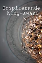 Inspirerende blog- award