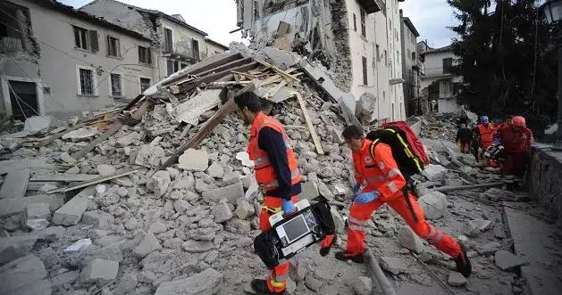 Σείεται η Ιταλία, νέος ισχυρός σεισμός 5,9 ρίχτερ