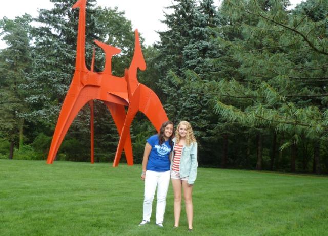 Bronislava\'s Art Blog: Visit To Pepsico Grounds
