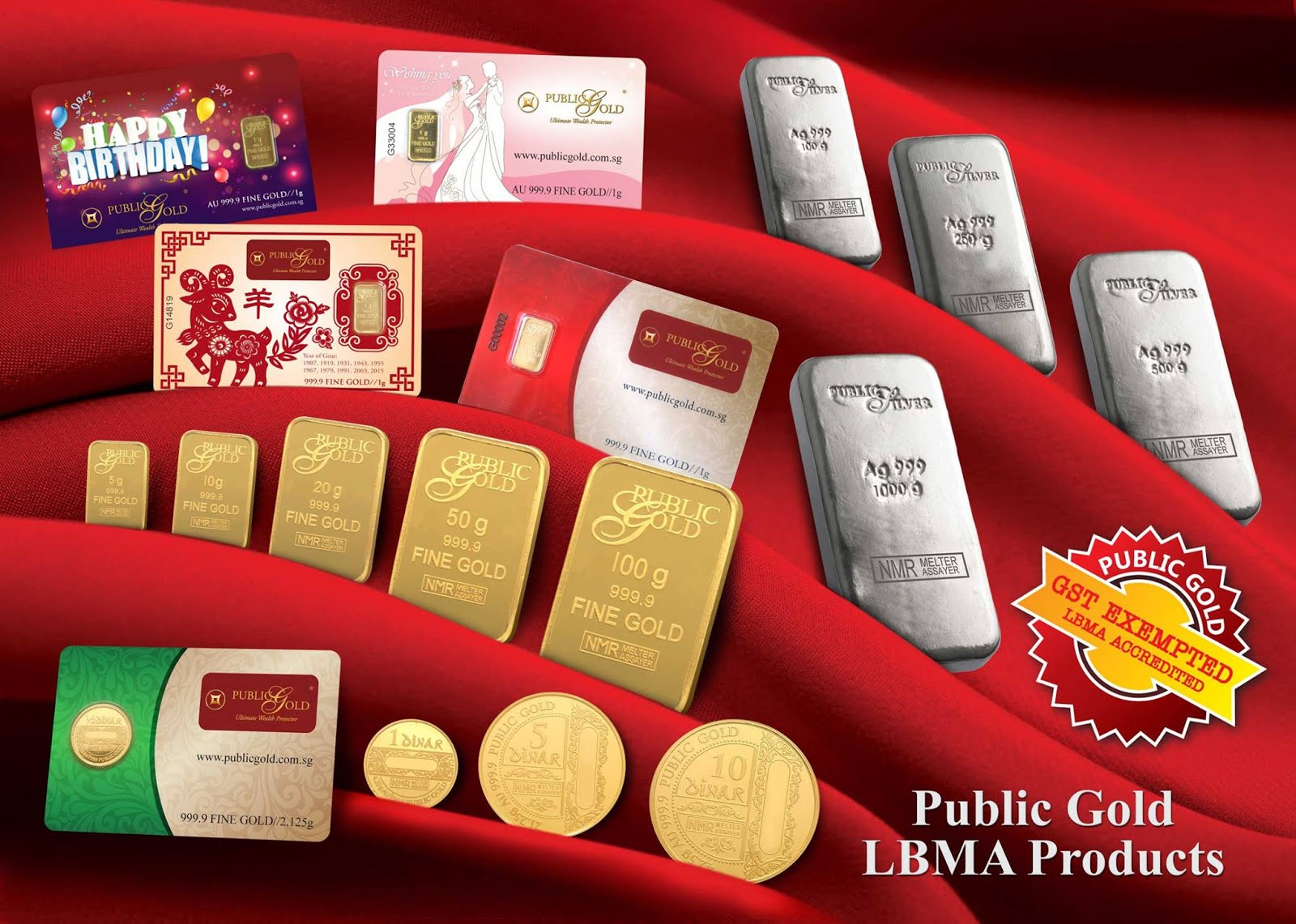 LBMA PRODUCTS