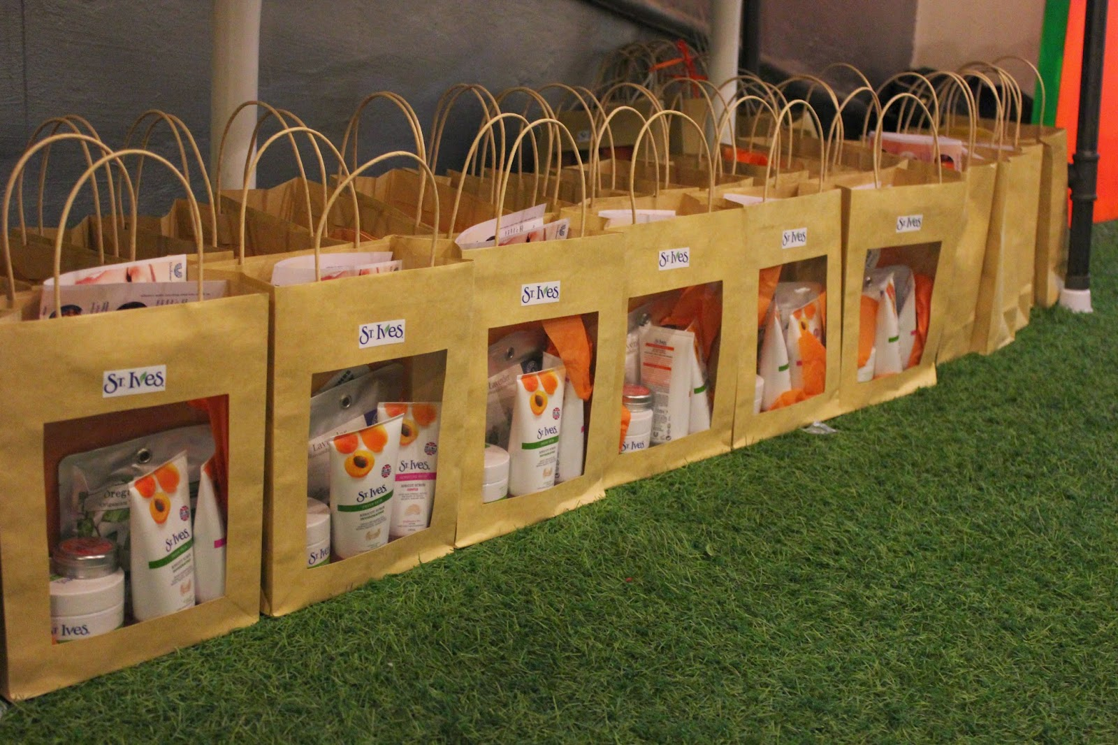 St Ives Skincare Event Goody Bag
