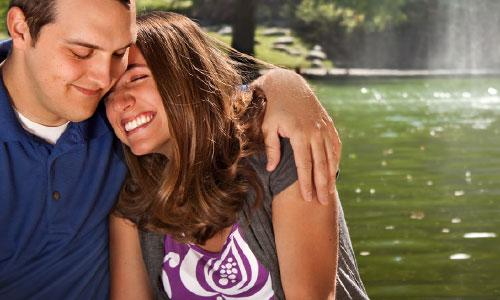 5 Ways to Show Your Wife You Care lake waterfalls,man hug woman love couple