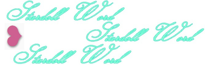 Stardoll Word