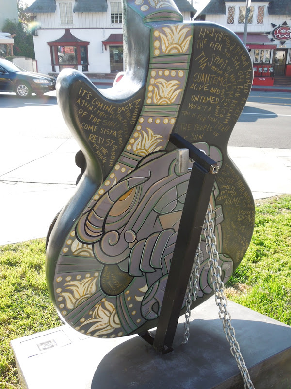 People of the Sun guitar back