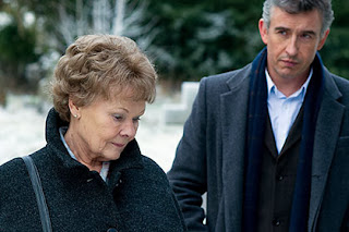 Judi Dench and Steve Coogan in a scene from Philomena.