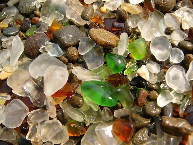 Glass Beach of California