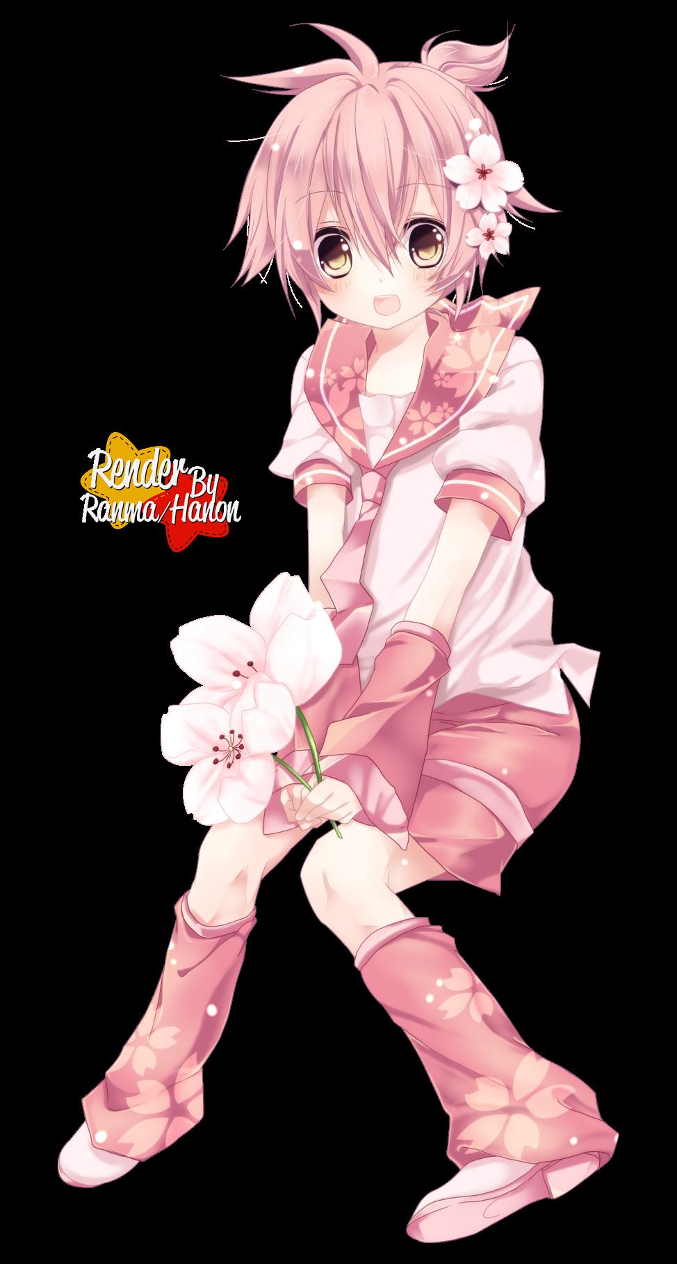 Render Sakura Len