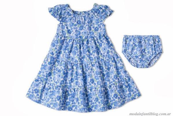 vestidos primavera verano 2014 moda infantil