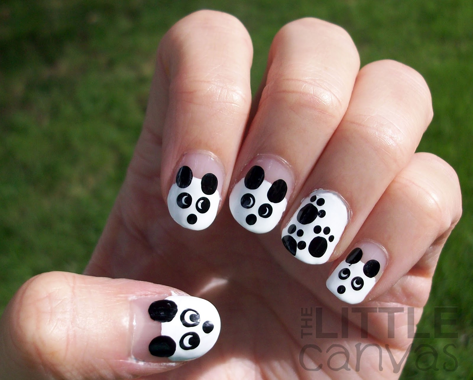 Cute panda nail art gallery nail art and nail design ideas cute panda nail art choice image nail art and nail design ideas cute panda nail art prinsesfo Images