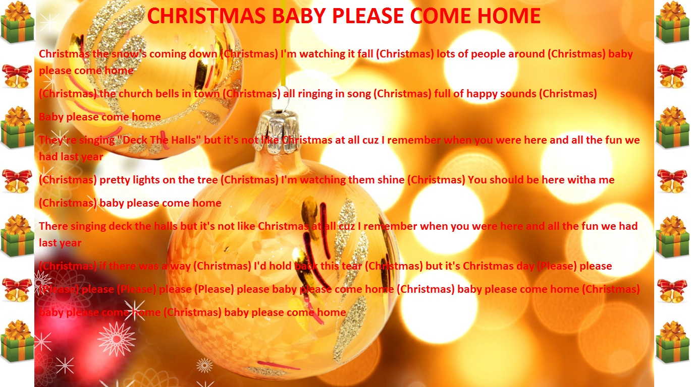 O christmas tree christmas lyrics songs decoration ideas christmas lyric slides Come home year decorations