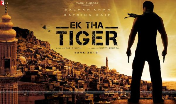 Ek Tha Tiger  Movie First Look Poster