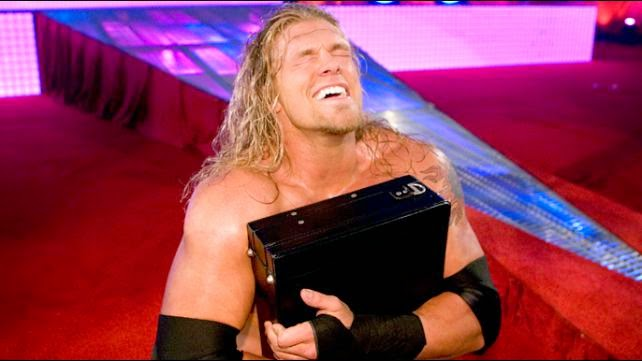 Edge winnin first ever money in the bank