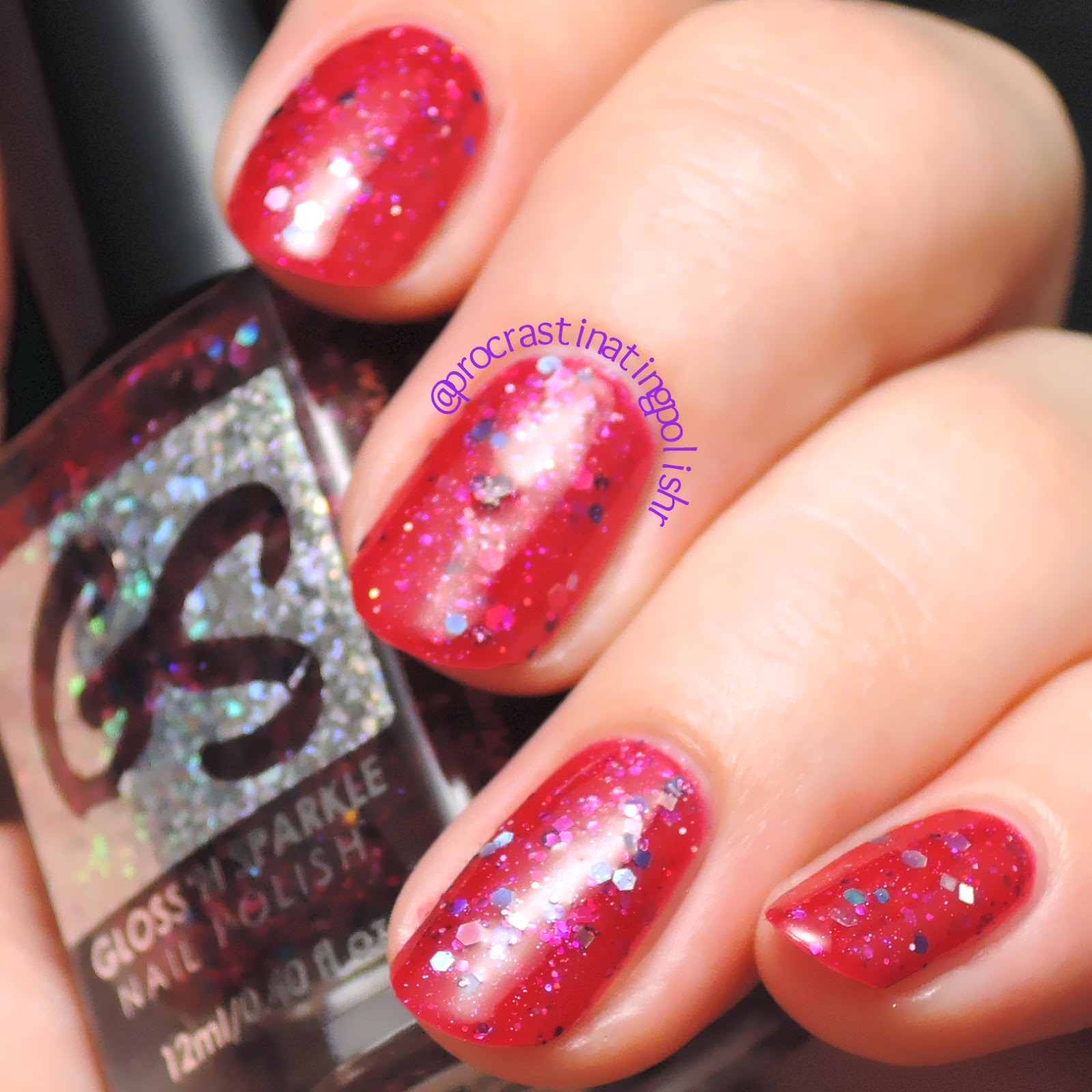 Gloss n Sparkle - Rose Madder | Swatch