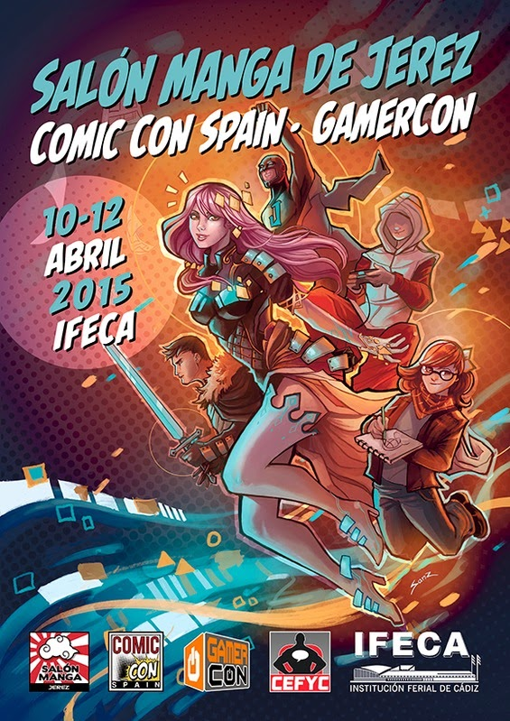 Salón Manga de Jerez - Comic Con Spain - Gamercon