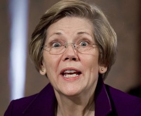 GOOFY ELIZABETH WARREN, MISSING IN ACTION?