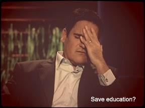 Save education?