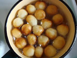 Сладкие шарики из сшузенки