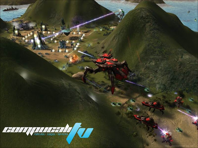 Supreme Commander Forged Alliance PC Full Español