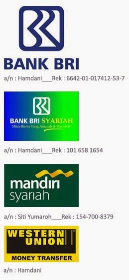 Rekening Bank: