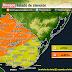 ALERTA | Prob. tormentas puntualmente fuertes (Mie 14/10 - AM Jue 15/10)