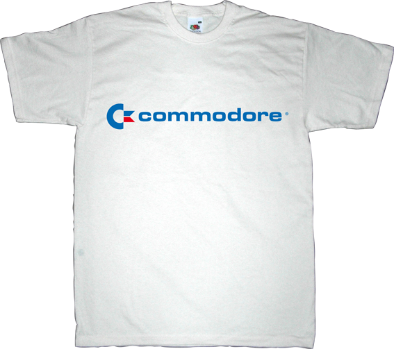 commodore vintage retro computer t-shirt ephemeral-t-shirts