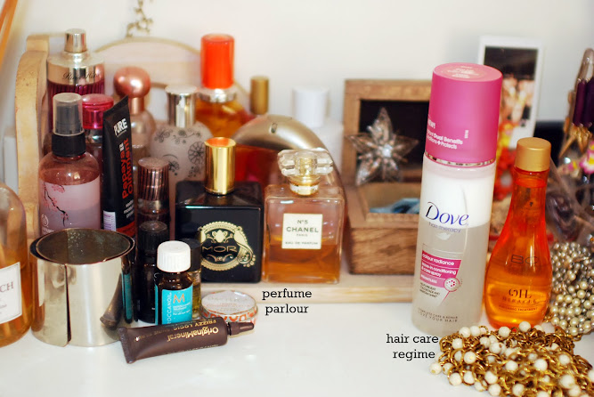 Perfume and Hair Care