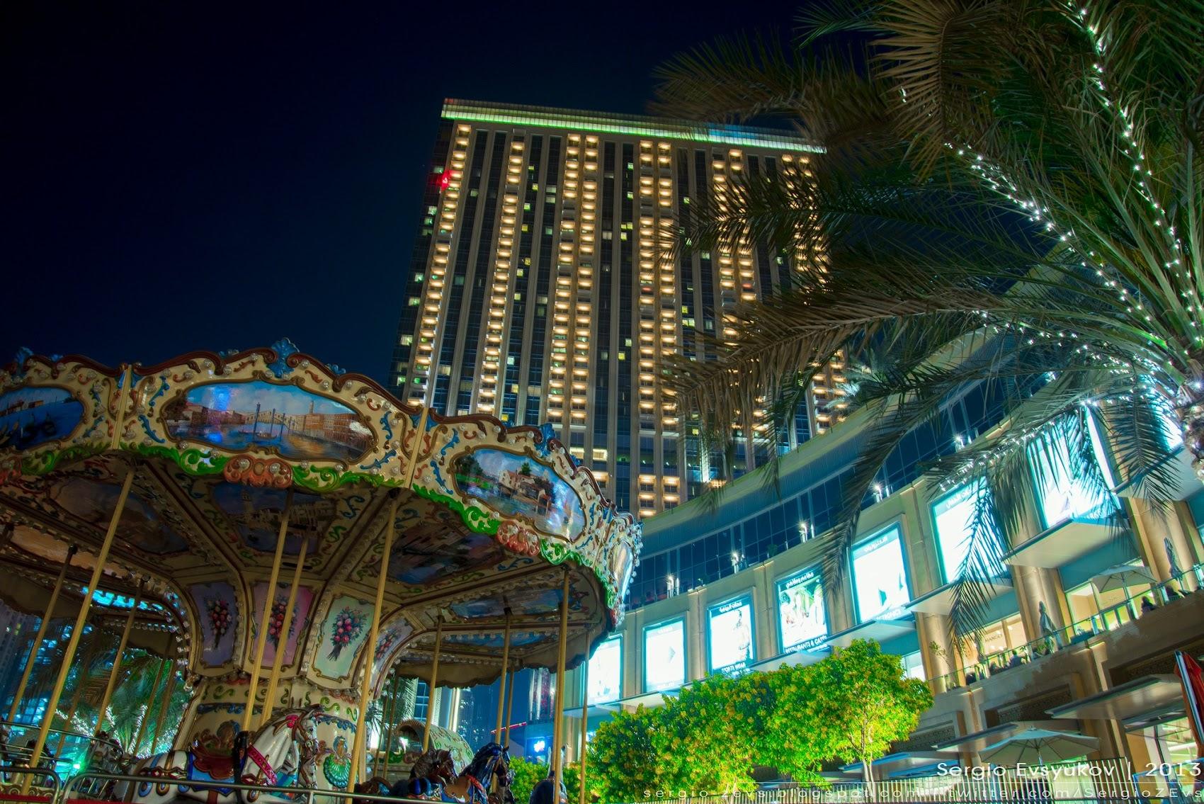 Ночная Марина в Дубае