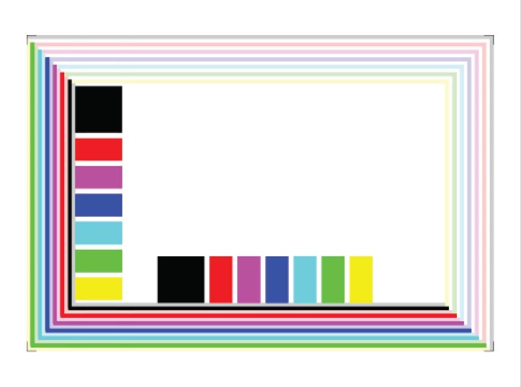 color laser printer test page