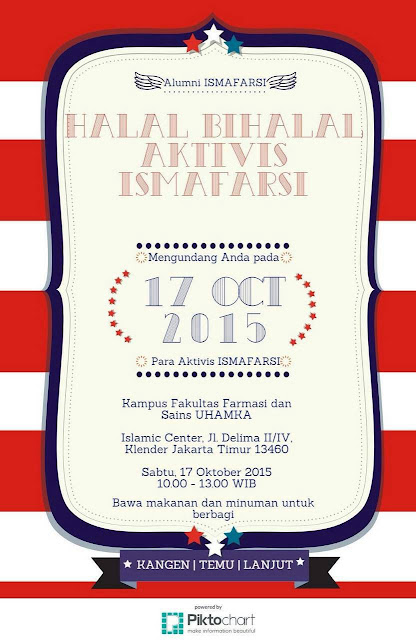 [Agenda] Halal Bihalal Aktivis ISMAFARSI