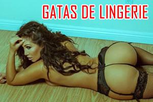 LINDAS GAROTAS SÓ DE LINGERIE