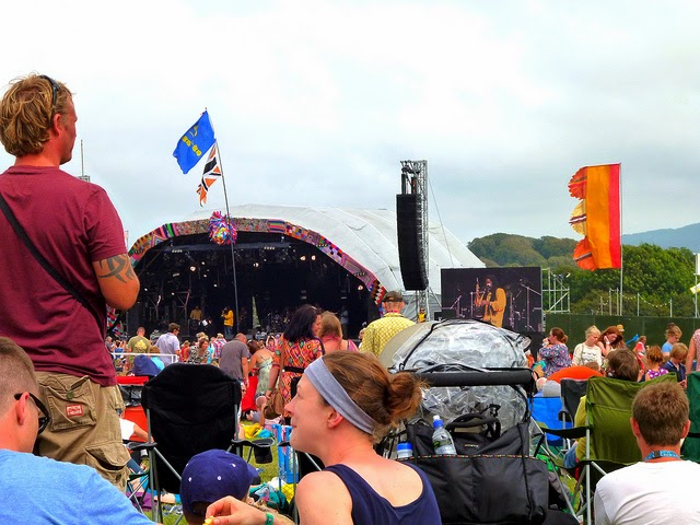 Main stage at camp bestival
