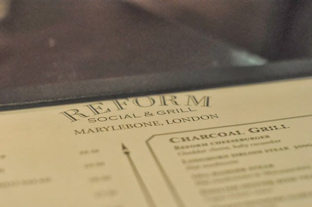 Reform+Social+and+Grill+Marylebone+London+review