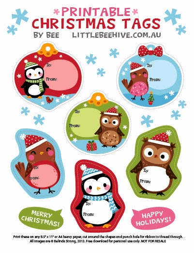 We love to illustrate free printable gift tags download here negle