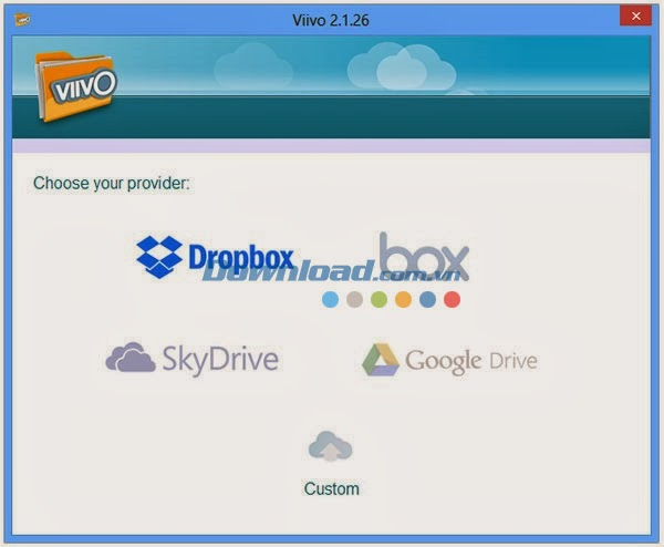 Viivo 2.1 Mã hóa tệp tin lưu trữ đám mây
