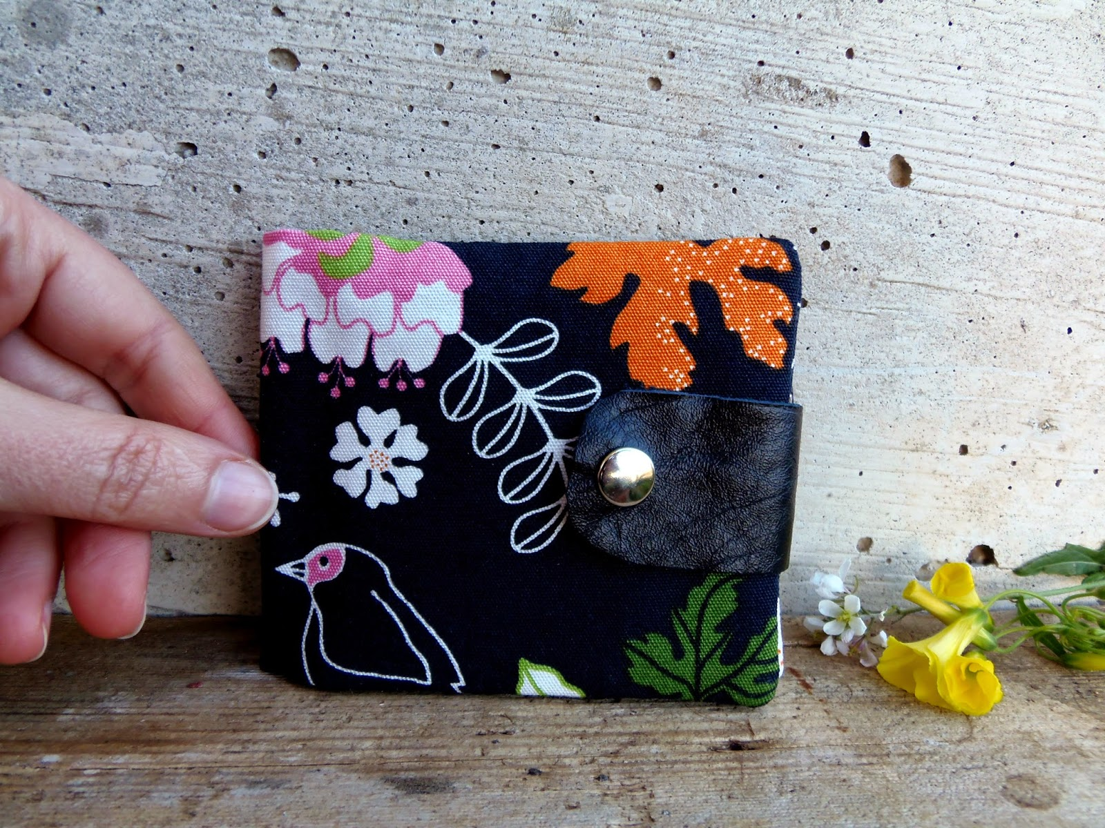 wallet by madamerenard on etsy