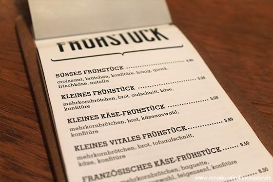 Café Knuth - Speisekarte