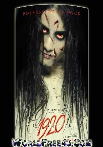 Watch Online Free Download 1920 Evil Returns Full Movie 300mb Bluray