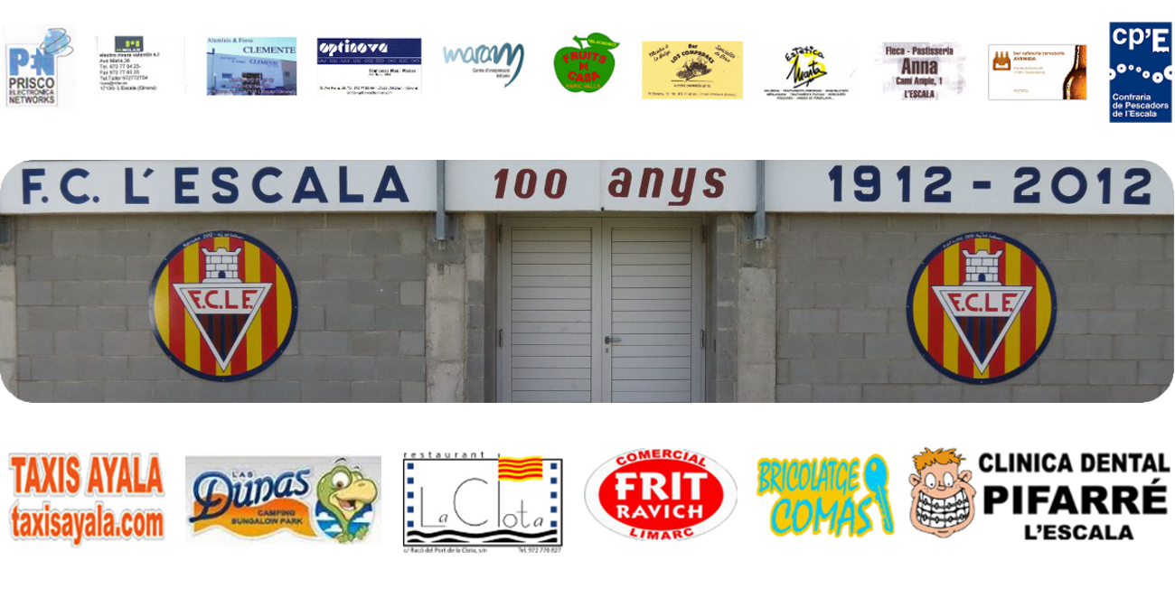 """FC L'Escala: Aleví """"B"""""""
